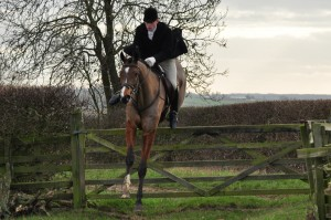Angus hunting with the Fernie at Stockerston Hall